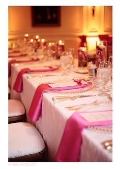 Duke Mansion Wedding, Charlotte NC Wedding Photographer, Kristin Vining Photography, wedding day, reception, pink, tablescape, candlight