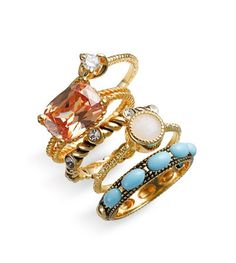 Stackable rings. http://shop.nordstrom.com/S/ariella-collection-mixed-stackable-rings-set-of-5/3189795?origin=keywordsearch&resultback;=1344