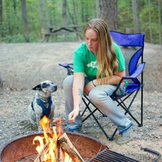 Camping with dogs means never having left over brats.. @lifewithmutts