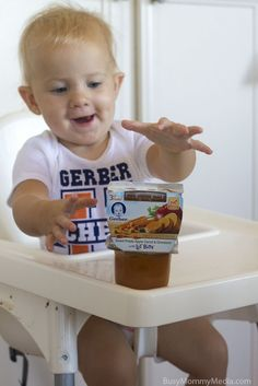 Worried about Starting your Baby on Solids? Find out how Gerber® FOODS® Lil' Bits™ Recipes can help you feed your baby with confidence. Toddler Play, Infant Activities, Baby Food Recipes, No Worries, Confidence, Parenting, Parties, Foods, Learning