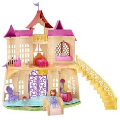 I want this one. I want dat castle. I like it. I need you to put it in our house. You like dat?