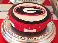 Georgia Grooms cake