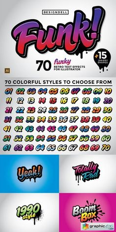 Funk Graphic Styles