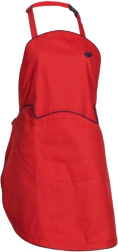 Equip your little chef with this kid-sized apron from Orka. Styled after the adult line of aprons and hats, these fun, pint-sized versions pack a lot of punch in their vibrant colors.