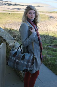 The Cadboll Tweed Weekend Bag. ANTA luggage is handmade in our workshops in the highlands – see more at: http://anta.co.uk/made-in-scotland/bags #anta #fashion #bag