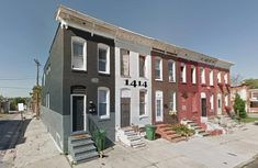 Baltimore Investment Property (Townhouse) Investment Property, Property For Sale, Baltimore, Square Feet, Townhouse, Investing, Multi Story Building, Real Estate, Mansions