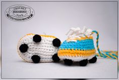 Вязаная обувь. Crochettoys. Игрушки ручной работы
