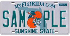 Florida's Sun-Sentinel newspaper has done the public service of combing the vanity plates rejected by the state's DMV and picking some real winners. It's like filthy, half-literate magnetic poetry: HASAGUN GOLF HOE / HO GETTA CAML TOW. Florida Dmv, Bradenton Florida, Colleges In Florida, State Of Florida, Florida License Plates, Traffic Camera, Magnetic Poetry, Vanity Plate, Kids Seating