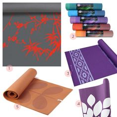Design*Sponge included our zinni yoga mat in a yoga mat round up!