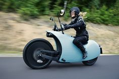 Pretty Awesome Electric Motorcycle. JOHAMMER J1