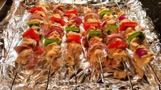 Chicken Kebabs (Kabobs) in the Oven with Eastern Aromas
