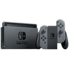 Nintendo Switch spillkonsoll 2019 med grå Joy-Con-kontrollere - Spillkonsoll - Elkjøp Refurbished Electronics, Colorful Hoodies, The Legend Of Zelda, Mario Kart, Docking Station, Nintendo Consoles, Nintendo Switch, Digital Camera, Super Mario