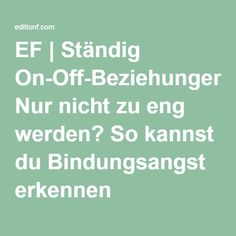 on off beziehung definition