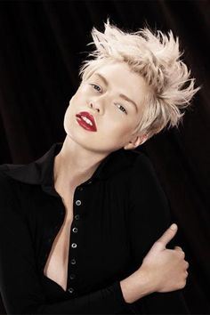 I need to grow out bits of my hair so I can style my pixie cut a bit differently...
