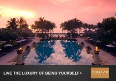 View Photos from the Conrad Bali luxury hotel. Offering Bali hotel lodging and accommodations. See why the Conrad Bali exudes 5 star quality. Bali Resort, Resort Spa, Need A Vacation, Dream Vacations, Vacation Ideas, Bali Nusa Dua, Conrad Hotel, Honeymoon Registry, Viajes