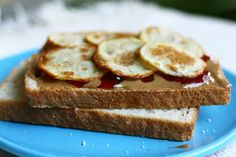 potato chip sandwich.  This looks a bit nicer than the ones I had.. white bread (wonderbread or something at friend's house, potato bread at mine), ruffles or lays chips.. then either peanut butter and jelly or lettuce, cheese, and turkey.