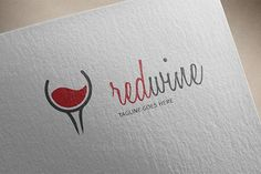 Check out Red Wine Logo by artnook on Creative Market