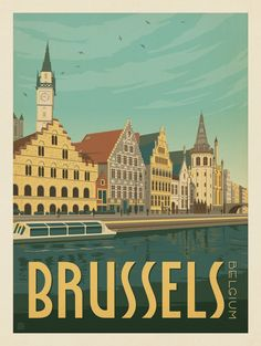 Anderson Design Group – World Travel – Belgium: Brussels