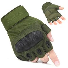 Amazon.com : Freetoo Men's Hard Knuckle Full Finger Military Gear Tactical Gloves : Sports & Outdoors