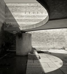 Sculpture Garden for the Venice Biennale designed by Carlo Scarpa