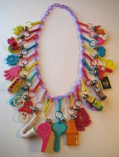 80's Charm Necklace
