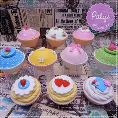 Doces Cenográficos - Cupcakes Vintage - Paty's Biscuit