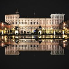{ #Turinapuddle } Palazzo Reale - #TORINO