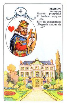 Lenormand – The Card Lover Totems, Tarot Significado, Tarot Card Meanings, Fortune Telling, Palmistry, Oracle Cards, Card Reading, Deck Of Cards, Belle Photo