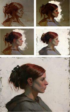 Four Portrait Painting Workshops in BC! Painting Process, Painting Lessons, Figure Painting, Painting Techniques, Acrylic Portrait Painting, Oil Portrait, Painting & Drawing, Digital Painting Tutorials, Painting Workshop