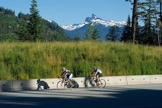 Road cycling in Whistler! by GoWhistler, via Flickr #whistler #whistler biking #robpalmwhistler