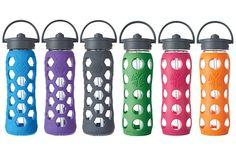2014 Gift Guide For Runners: 30 Ideas Under $30 | Runner's World ~ LifeFactory Straw Cap Glass Bottle
