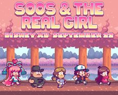 gravi-teamfalls: probertson: Next Gravity Falls episode, watch it!http://youtu.be/oIKcyM4Ntn0 Rumble McSkirmish's father isn't really dead and in need of avenging- he's master pixel artist Paul Robertson! Paul lent his talents to the next GF episode, Soos & the Real Girl, premiering September 22nd!