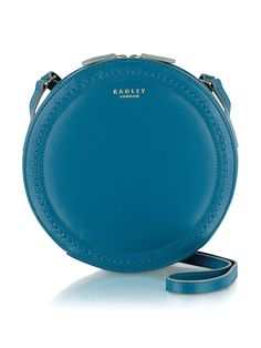 52183108afc Radley Serpentine Leather Crossbody Bag - Blue A true example of Radley s  craftsmanship at its best