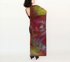 Essence, Sunrise - Silk Scarf, Long, 16x72 (version B)