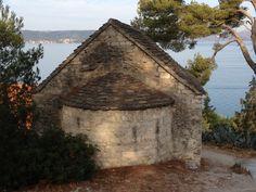 Sveti Jure church on Marjan Hill in Split, Croatia. Lovely!