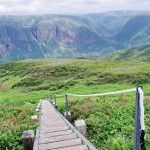 View to the Long Range Traverse from Gros Morne Mountain, Gros Morne National Park, Newfoundland Newfoundland Canada, Newfoundland And Labrador, Newfoundland Icebergs, Local Hiking Trails, Places To Travel, Places To Go, Gros Morne, Visit Canada, Mountain Hiking