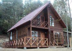 Arquitectura de Casas: Modelos de casas prefabricadas en Chile.