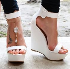 36 Dressy Shoes That Will Inspire You This Winter - Women Shoes Trends Hot High Heels, Platform High Heels, High Heel Boots, Heeled Boots, Shoe Boots, Pumps, Wedge Shoes, Shoes Heels, Wedge Sandals