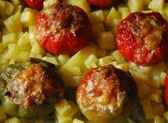 Pipi chini (peperoni ripieni)