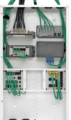 35ae85c66b7e8e9af1b711a111e2569f home network diy electronics whole house structured wiring networking set ups cabinets home wiring panel at gsmx.co