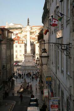 Rossio, Lisboa.