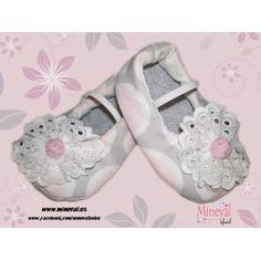 Zapato NOEMI, hecho a mano y para bebé