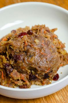 Recipe Tin Project: Carrot Pudding – Dusty Old Thing Carrot Pudding, Potato Pudding, Baked Carrots, Carrots And Potatoes, Moist Carrot Cakes, Moist Cakes, Chicken Gumbo, Pudding Ingredients, Christmas Pudding