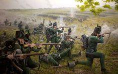 1815 Waterloo 95th Rifles - Ferre Clauzel