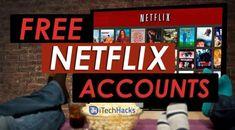(Latest) Free Netflix Premium Accounts & Passwords of July 2020 Netflix Promo Code, Codes Netflix, Netflix Account And Password, Netflix Gift Card Codes, Box Netflix, Netflix Free Trial, Netflix Hacks, Tv Hacks, Computer Science