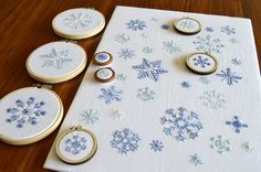 Noel Christmas hand embroidery pattern, a modern embroidery pattern PDF Embroidery Materials, Embroidery Patterns Free, Modern Embroidery, Hand Embroidery Designs, Embroidery Stitches, Machine Embroidery, Embroidery Digitizing, Simple Embroidery, Floral Embroidery