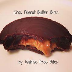 Additive Free Bites: Chocolate Peanut Butter Bites