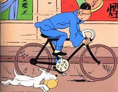 Tintin - The Friday Cyclotouriste