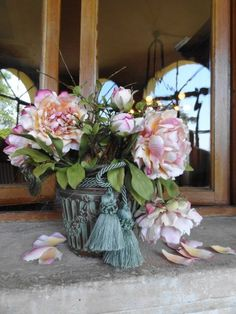 Peonies by Paola Avesani - flowers in cold porcelain/pasta di mais/porcelana fria