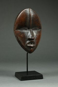 www.berzgallery.com African Masks, African Art, Ivory Coast, Sculpture Art, Culture, Masks, Africa, Woodwind Instrument, African Artwork